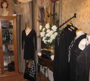Fine lingerie Petite robe noire